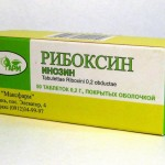 Рибоксин таблетки