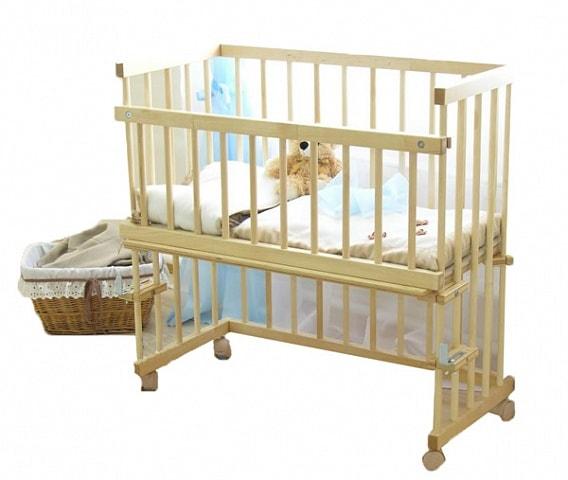 Приставная кроватка Можга Малуша С751